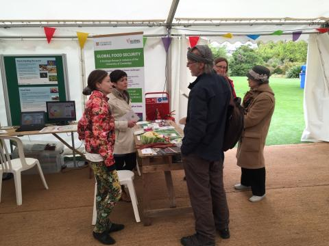 global food security stand
